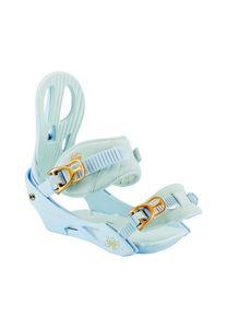Nitro Damen Snowboardbindung RYTHM Bdg.´18 , Größe:S, Farbe:weiß, Farben:white gold