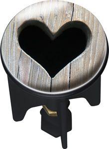 Waschbeckenstöpsel Pluggy® Heart
