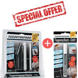 Fugentorpedo Basis Starter Set inkl Stift