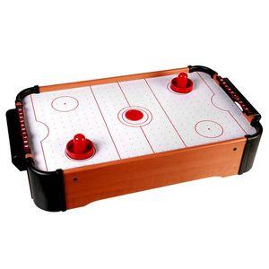 Tisch-Airhockey Mini Airhockey Tischhokey Lufthocky Spiel batteriebetrieben