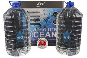ATI Absolute Ocean 2 x 10,20 Liter (für 170 L) hochreines konzentriertes Meerwasser