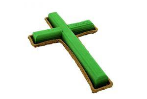 Kreuz für Frischblumengestecke, 50 cm