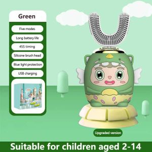 Wokex Sonic Electric Elektrische Kinderzahnbürste Kinder|Elektrische Zahnbürsten