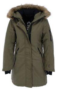 CHIEMSEE Damen Winterparka Regular Fit, Größe:XS, Chiemsee Farben:Dusty Olive