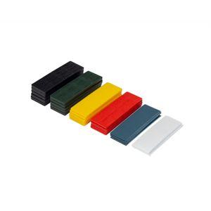 100 x Inovatec Kunststoff Verglasungsklötze Glasklötze 100 x 30mm Trageklötze in verschiedenen Abmessungen, Abmessungen:100 x 30 x 3 - rot