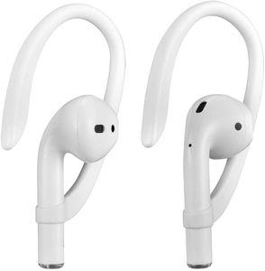 Earhooks für AirPods und AirPods Pro Ohrbügel, Sports Activities Headset Ohrhaken Ear Hook für Apple AirPods 1 2 und AirPods Pro (Weiß)