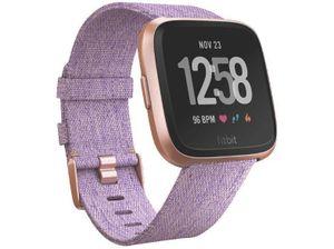 FITBIT Fitnesstracker Gewebearmband, S-L, Farbe: Lavender Woven