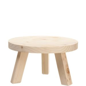 Getränkespendersockel Holz