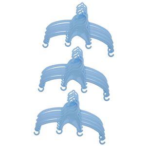 15 stücke baby kinder kinder kleidung kleiderbügel gekerbte hosen kleidungsstück blau wie beschrieben