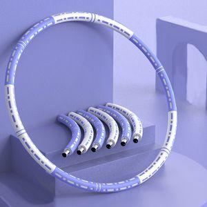 Welikera Hula Hoop-Serie zur ,Reifen mit Schaumstoff Einstellbares Gewicht Hula-Hoop-Reifen für Fitness