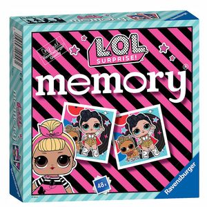 Mini Memory®   48 Bildkarten   L.O.L. Surprise   LOL   Ravensburger   Spiel