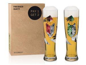Ritzenhoff Weizen Weizenbierglas 2er Eikler Freibierduett 6020001
