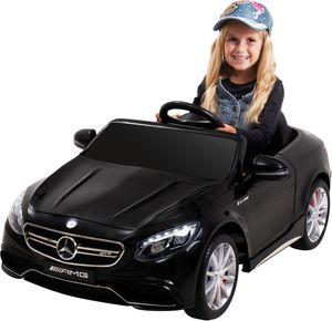 Kinder-Elektroauto Mercedes AMG S63 Lizenziert (Schwarz)