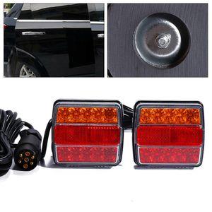 LED Rückleuchten Anhänger Rücklicht Leuchte Verkabelt Anhängerbeleuchtung Anhängerleuchte Rücklicht 12V