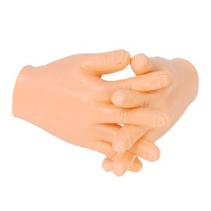 Tiny Hand Finger Puppen Wenig Finger Requisiten für Hände Halloween Hand Prop Zubehör Mini Streich Hand Gag Geschenke für Erwachsene 2St 7 x 4,6 x 2 cm Fingerpuppe Mini Finger Hände