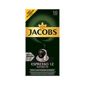Jacobs Espresso Ristretto | 10 Nespresso® komp. Kapseln