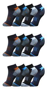 12 Paar Socken Sport - Sneaker - Socken Kurzsocken Gr. 43-46