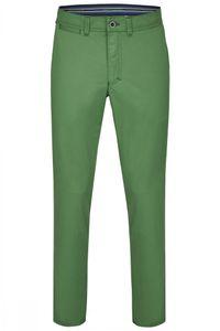 Club of Comfort - Herren Flat Front Hose in verschiedenen Farben, Garvey (5107), Farbe:Mittelgrün (75), Größe:27