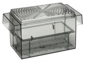 Ebi auslaufbox 3-in-1 für Guppys 16 x 8 x 8 cm transparent