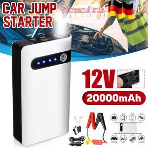 20000mAh Auto Starthilfe Jump Starter 400A KFZ Power Bank Ladegerät Booster 12V
