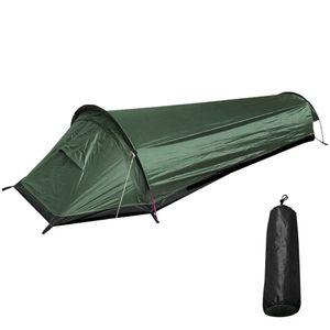 Campingzelte Backpacking Zelt Outdoor Camping  Zelt Leichte Einzelperson Zelt für Camping Outdoor,Grün