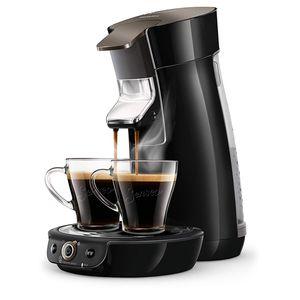 Philips HD6564 / 61 Kaffeepadmaschine SENSEO Viva Café Duo Select Black Sparkling