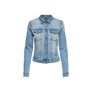 Only Damen Jacke 15177241 Light Blue Denim