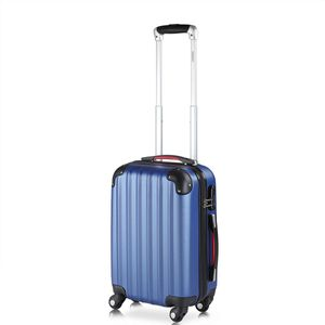 Hartschalenkoffer Koffer | Handgepäck | Trolley 4 Rollen Reisekoffer Gepäck Schloss ABS
