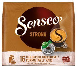 Senseo, Kaffeepads, Kräftig, 16 er, 111 g, UTZ