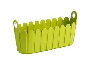 Emsa LANDHAUS Jardinière 39 x 15 cm grün