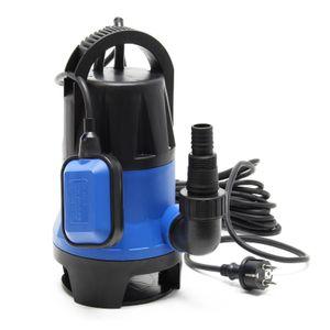 Schmutzwasserpumpe 400W 7500 l/h Tauchpumpe Gartenpumpe Brunnenpumpe Pumpe