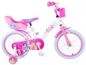 Disney Princess Kinderfahrrad 16 Zoll Kinder Fahrrad Prinzessinen Mädchen Rad