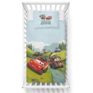 Disney Pixar Cars Baby Kleinkind Bettwäsche Set 100x135 40x60cm Duvet Adventure
