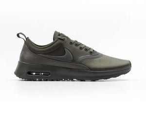 NIKE W Air Max Thea Ultra Premium Damen Sneaker Grün 848279 301, Größenauswahl:36.5