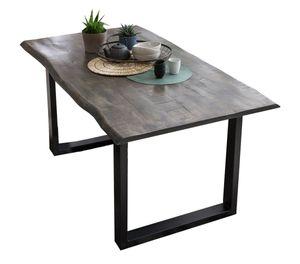 Sit Möbel TISCHE & BÄNKE Esstisch Mango | L 160 x B 85 x H 78 cm | grau / schwarz | 07107-76 | Serie Tische & Bänke