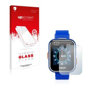 upscreen Hybrid Glass Clear Premium Panzerglasfolie für Vtech Kidizoom Smart Watch DX2