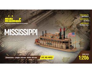 Krick Mississippi  Bausatz 1:206 Mini Mamoli