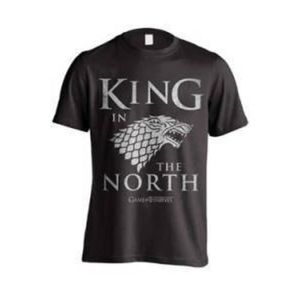Game of Thrones T-Shirt King In The North Größe M