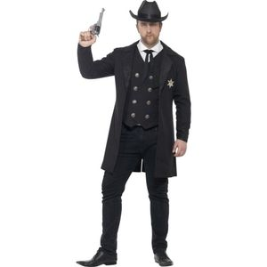Western Herren Kostüm Sheriff Cowboy Karneval Fasching Gr.XL