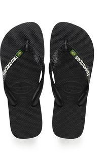 havaianas Brasil Logo Flips black/black Schuhgröße EU 47-48   Brazilian 45-46