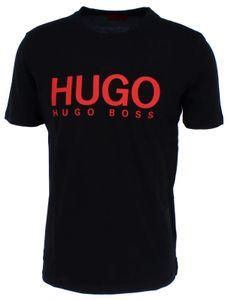 HUGO BOSS DOLIVE Herren T-Shirt Logo print, Größe:L, Hugo Boss:Black