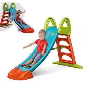 Feber Slide10 große Kinder Rutsche XXL Gartenrutsche Wasserrutsche Riesenrutsche