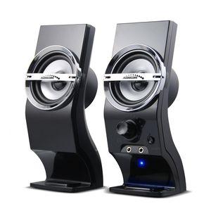 Audiocore AC805 - 2-Wege - 1.1 Kanäle - Verkabelt - 3 W - 4 Ohm - Schwarz - Silber