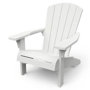 Keter Adirondack Stuhl Troy Weiß
