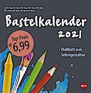 Bastelkalender 2021 groß anthrazit