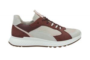 ECCO Damen Sneaker Sneaker Low Lederkombination beige 39