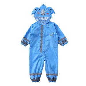 3 10 Jahre Alte Kinder Regenmantel Poncho Atmungsaktiv für Studenten Regenbekleidung Zubehör Karikatur wie beschrieben blau M.