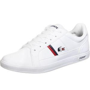 Lacoste Europa Herren Sneaker in Weiß, Größe 8.5