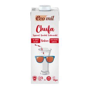 EcoMil Erdmandeldrink ohne Zuckerzusatz 1l