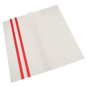 10x Geschenkpapier Packpapier Kraftpapier Flatpapier Papierbogen für Dekoration und Verpacken Farbe Weiß